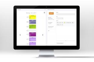 Digital den Unterricht dokumentieren über das Dashboard der Schulverwaltungssoftware