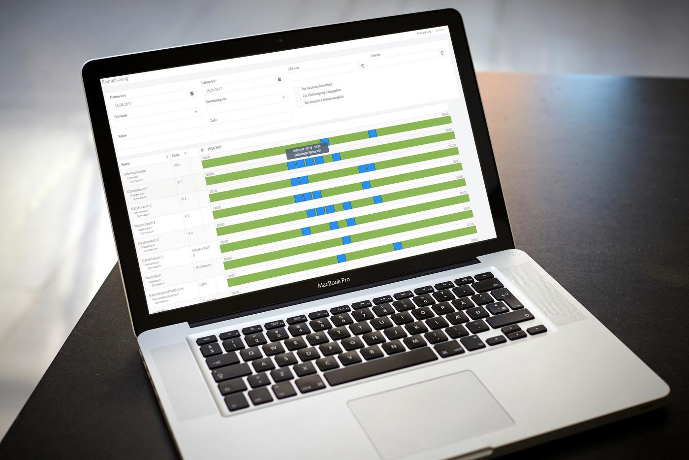 Stundenplanprogramm for Software raumplanung