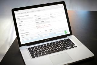 Die Verwaltungssoftware beinhaltet auch ein Rechnungsprogramm