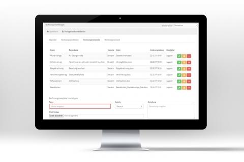 Rechnungen unkompliziert und schnell mithilfe von Vorlagen erstellen