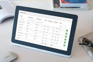 Die Verwaltungslösung von All4Schools beinhaltet auch eine Rechnungssoftware für den Überblick über Ihre Debitoren