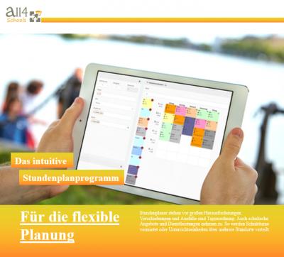 Neue Produktflyer und Informationsmaterial zur Schulverwaltungssoftware All4Schools